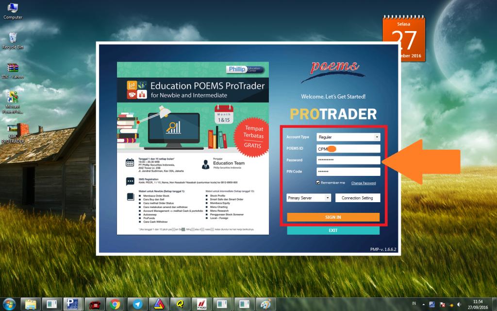 login-protrader